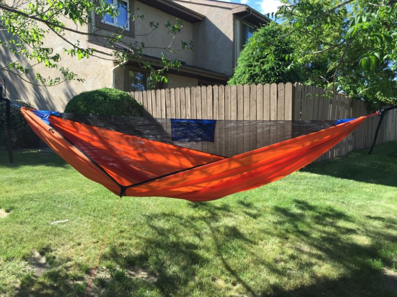 look at little shop of hammocks up in canada specifically the warrior edge hammock  james is really nice and does beautiful work with lots of options  advice o n a hammock decission  rh   hammockforums